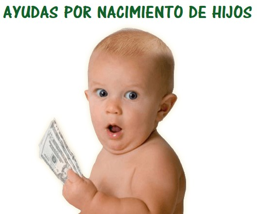 ayudas nacimiento hijos subvenciones maternidad