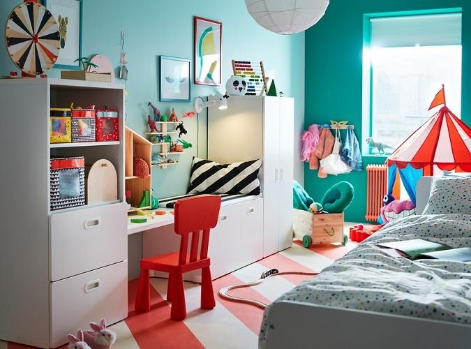 como decorar habitaciones de niños de 2 a 5 años