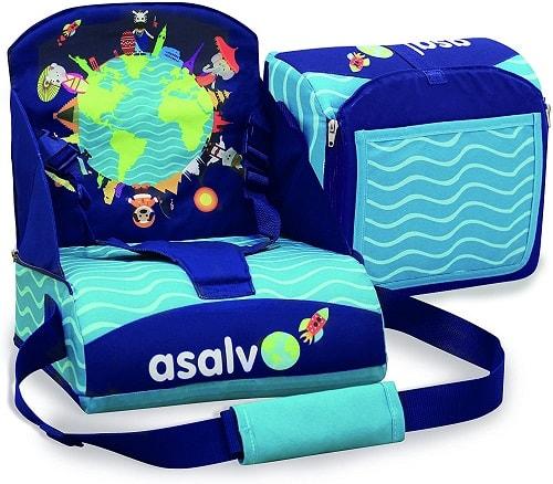 trona portatil de viaje con mochila
