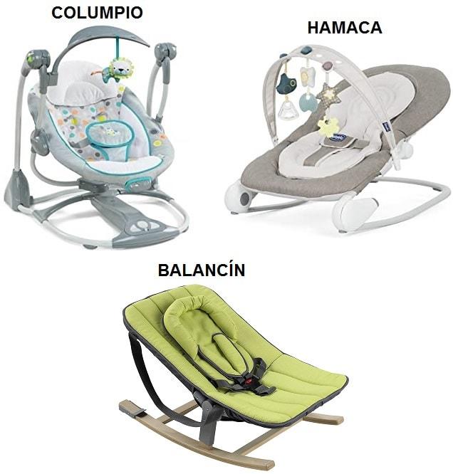 diferencia entre hamaca de bebe columpio electrico y balancin