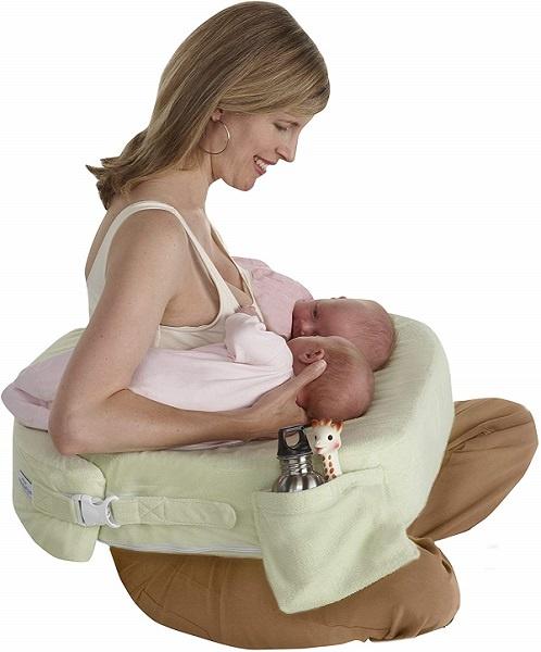 cojin lactancia gemelar almohada amamantar gemelos