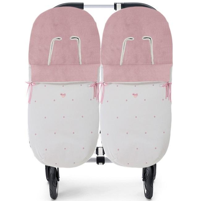 comprar saco gemelar invierno para silla carrito
