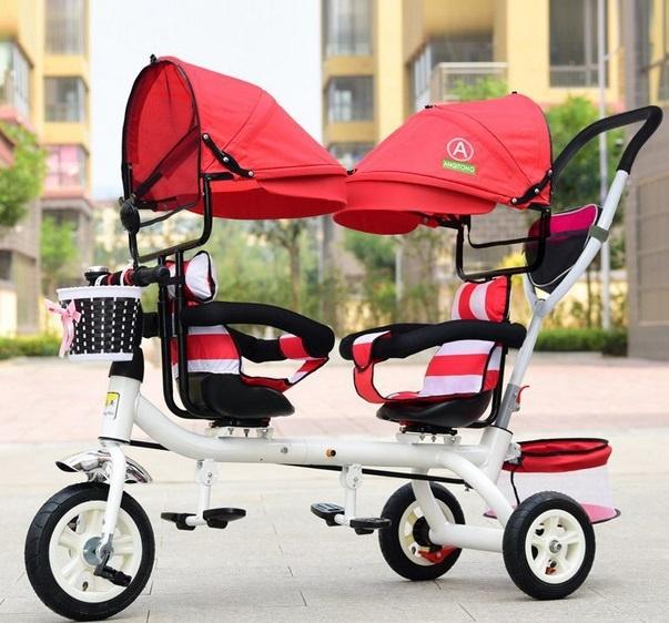 triciclo gemelar bidireccional