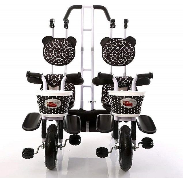 triciclo paralelo de gemelos